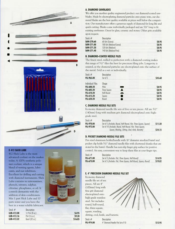 Fine Square FIL-995.22 Economy Needle File