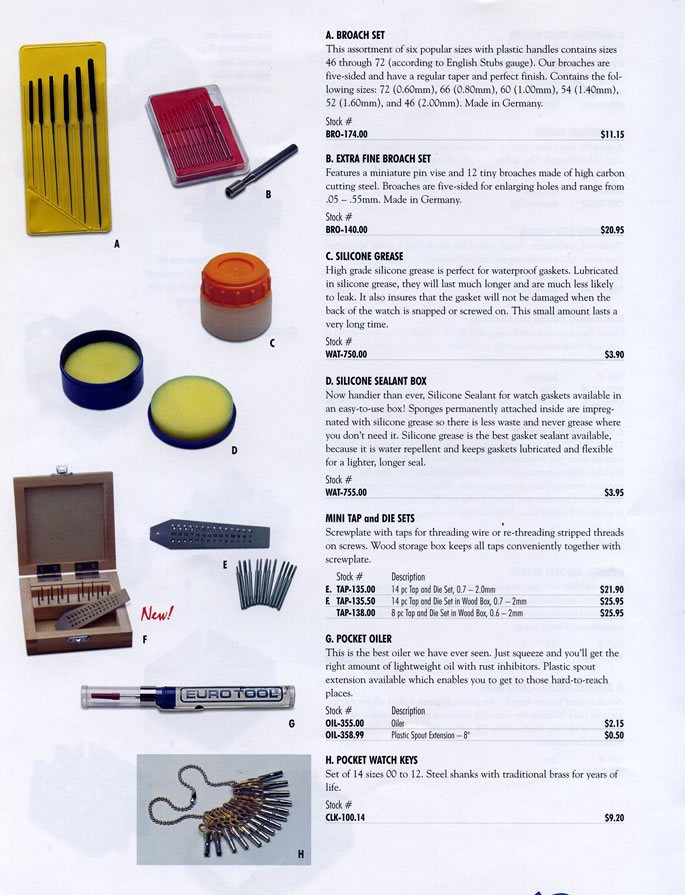 Assay Services, Jewelry and Watch Tools - AMC Company